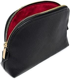 MONTROSE Medium Cosmetic Makeup Bag for Women's Accessories & Toiletries, Black