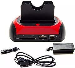 Leitor Externo Universal Case Gaveta de Cartão Memória USB HD SATA IDE