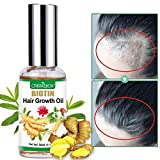 Hair Growth Oil,2020 Hair Growth Serum,Hair Growth,Stops Hair Loss, Hair Thinning Treatment, Hair Growth Treatment,Essential Oil for Women Men-50ml