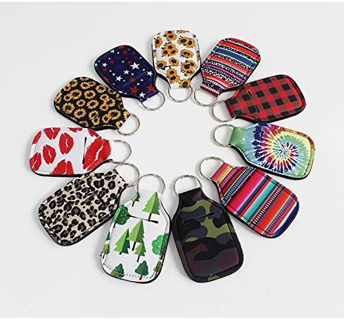 Mini-Flaschenhalter, Schlüsselanhänger, tragbar, wiederverwendbar, Schutzhülle für Lippenstift, Parfümflasche, Einweg-Desinfektionsmittel, Autoschlüssel, zufällige Lieferung