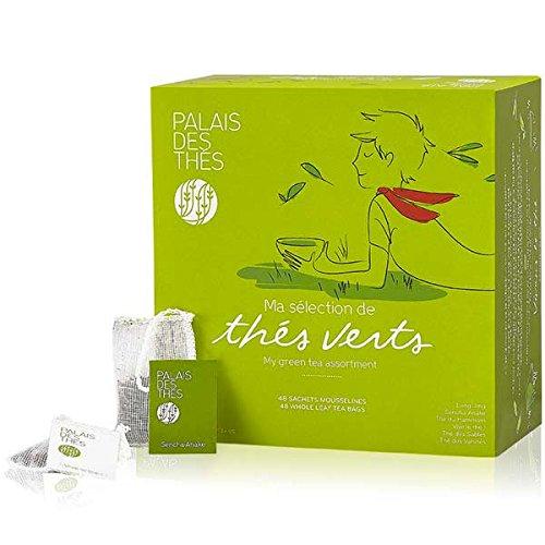 Palais des Thés My Green Teas, Selection of 48 Tea Bags
