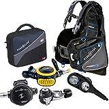Aqua Lung Pro HD BCD i300 Dive Computer Titan / ABS Regulator Set Reg Bag Scuba Diving Gear Package