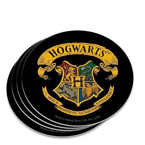 Harry Potter Ilustrated Hogwart's Crest Novelty Coaster Set