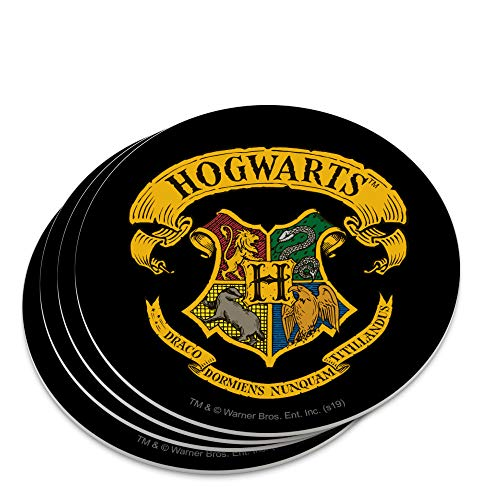 Harry Potter Ilustrated Hogwart's Crest Novelty Coaster Set