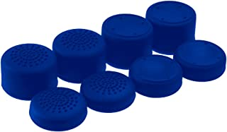 AceShot Thumb Grips (8pc) for Xbox One (One S & X) by Foamy Lizard – Sweat Free 100% Silicone Precision Raised Antislip Rubber Analog Stick Grips For Xbox One Controller (8 grips) BLUE