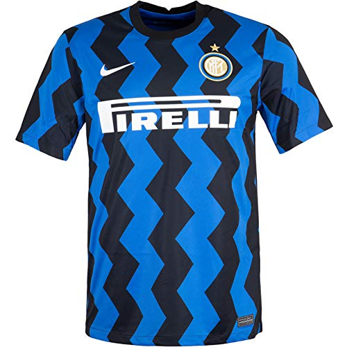 Nike Inter Miland Home - Maglia da calcio (L, blu/nero)