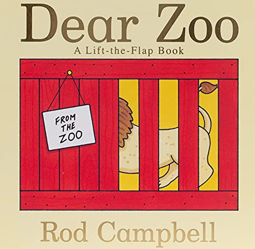 Product Image of the Dear Zoo: A Lift-the-Flap Book