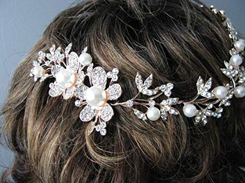 EleganceWithFlair Bride Al sold Now free shipping out. Wedding Hair Brida Girls Comb Rhinestone