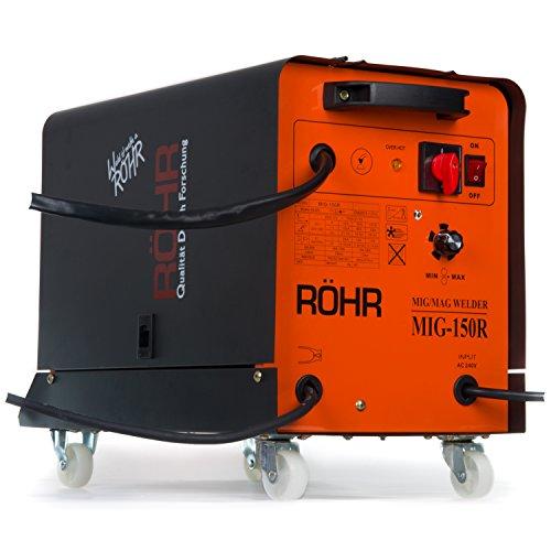 Röhr - MIG-150R Schweißgerät - Flussmittel / Gas / MIG / Schweißdraht - 240V - 150A DC