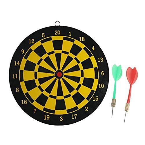 PHLPS Conjunto de Tablero de Dart Número Colgante Target Steel Tip Tip Dards Indoor Colgando Número Target Game Indoor para Adultos Regalos de Dartboard para Hombres