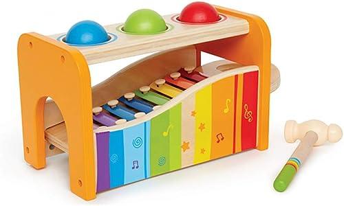 LINGLING-klopfen am klavier Handklopfen Auf Dem Klavier Kind Xylophon Acht-Ton P gogisches Spielzeug Geschenk (Größe   Three Balls)