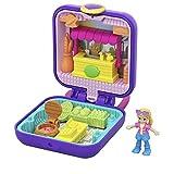 Polly Pocket GKJ40 - Mini Schatulle Pollys Marktstand, Spielzeug ab 4 Jahren