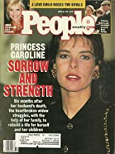 Princess Caroline, Ivana Trump, Princess Anne and Mark Phillips - April 8, 1991 People Weekly Magazine