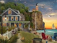 ビーチサイド灯台ジグソーパズル 550ピース