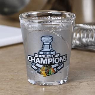 Hunter Chicago Blackhawks 2010 NHL Stanley Cup Champions 2oz. High-Definition Shot Glass ()