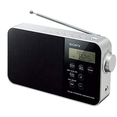 ソニー PLLシンセサイザーポータブルラジオ ICF-M780N : FM/AM/ワイドFM/ラジオNIKKEI対応 乾電池対応 ブラック ICF-M780N B