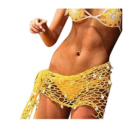 Mano Playa Gancho De Verano De Mujer Bufanda del Color Ropa Fiesta Sólido De Cáscara Floja Red De Pesca De Manera Femenino Protector Solar Toalla De Playa Clásico
