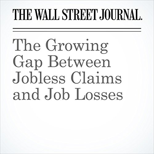 The Growing Gap Between Jobless Claims and Job Losses copertina