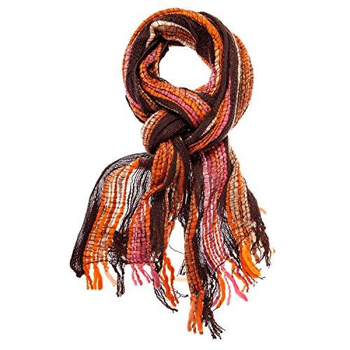 Mooie bonte sjaal, heren dames unisex, 48 x 190 cm