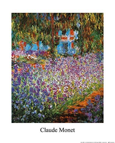1art1 Claude Monet - Der Garten des Künstlers In Giverny, 1900 Poster Kunstdruck 50 x 40 cm
