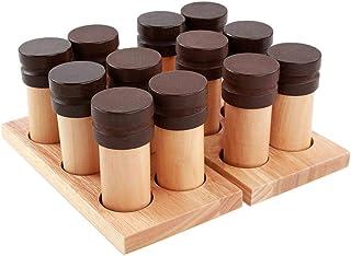 Generic Montessori Kids Baby Education Developmental Wood Odor Sensory Set