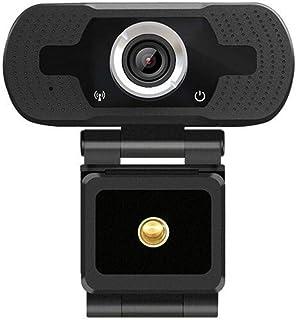 كاميرات الويب HD-F18 1080P Multi-function HD Camera WebCam with Microphone (Black) كاميرات الويب (Color : Black)