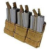 CONDOR Tactical Triple Stacker Open-Top Mag Pouch...