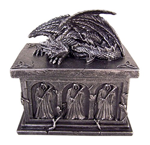 Home Originality Crypt Keeper Dragon Trinket Box with Hidden Storage Compartment
