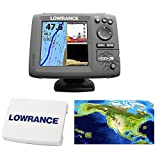 Lowrance Hook-5 Coastal Nautic Insight Sonar/GPS...