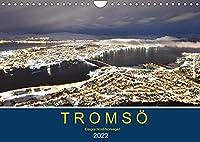 Tromsoe, eisiges Nord-Norwegen (Wandkalender 2022 DIN A4 quer): Faszinierende Fotos einer der noerdlichsten Staedte Europas (Monatskalender, 14 Seiten )