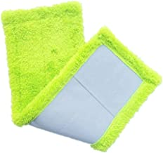 Mop Head Mop Pad 3 Colors Replacement Microfiber Mop Can Be Washed Suitable for Flat Spray Mop Household Cleaning Tool