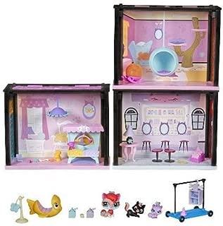 Hasbro Littlest Pet Shop Style Set Playful Kitties Getaway Playset