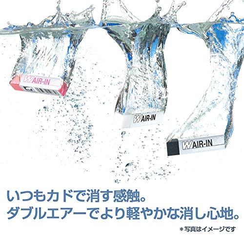 プラス消しゴムダブルエアインスティックタイプ11g4本入りミックス36-437