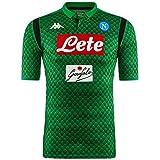 SSC Napoli Camiseta de portero local verde fantasía, verde, xxl