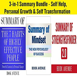 3-in-1 Summary Bundle - Self Help, Personal Growth & Self Transformation: Includes Summary of StrengthsFinder 2.0, Summary of The 7 Habits of Highly Effective People & Summary of Mindset cover art