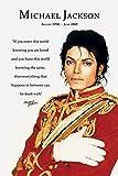 The Poster Corp Michael Jackson Loved Laminiertes Plakat