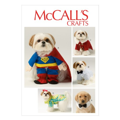McCall Pattern Company M6862 Pet Clothes and Costume Sewing Template
