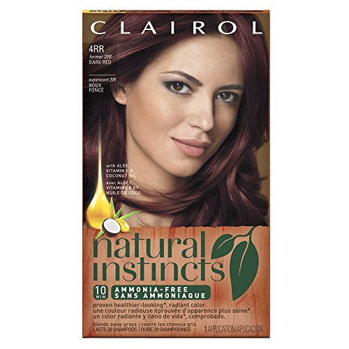 Clairol Natural Instincts 20R, Malaysian Cherry, Dark Red 1 Kit (packaging may vary)