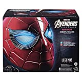 Spider-Man Marvel Legends Series Iron Spider Electronic Helmet with Glowing Eyes, 6 Light Settings and Adjustable Fit