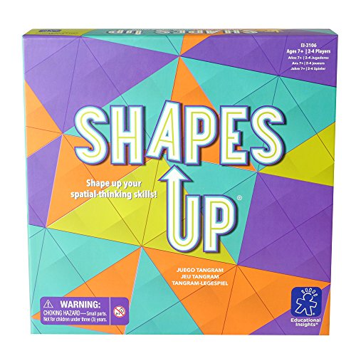 Educational Insights-Juego de Tangram Shapes Up de Learning Resources EI-3106
