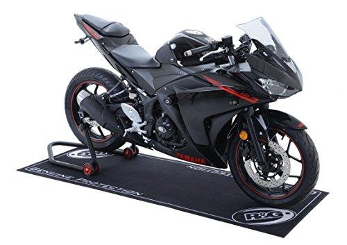 R&G Racing Products GM0001BK Motorrad-Werkstatt-Matte, Schwarz, OS