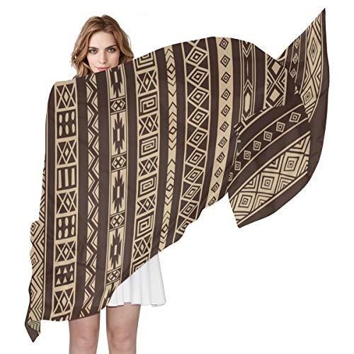 FANTAZIO Écharpe pour femme Motif tapis africain