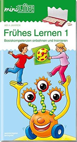 miniLÜK-Übungshefte: miniLÜK: Kindergarten/Vorschule: Frühes Lernen 1
