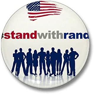 #Stand With Rand Mini Button 1