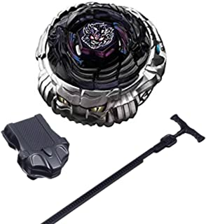 XSZLL Gaming Toy BB-122 Metal Fusion Duel BurstDiablo X:D 4D System Battle Spinning Top with Launcher