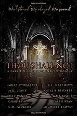 Thou Shall Not: A Dark Ten Commandments Anthology Paperback