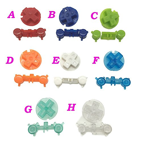Replacement Full Button Keypad A B Direction Cross Buttons For Nintendo Gameboy Pocket GBP (D)