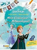 Disney Die Eiskoenigin: Grosse Helden - Kleine Kuenstler: Mein Eiskoenigin-Mitmachspass: Einfach kreativ sein! - Malen, Basteln, Spielen und Dekorieren mit Anna und Elsa (ab 4 Jahren)