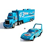 EASTVAPS Racer Metal Pixar Car Trucks And Cars Lighting Uncle Mike The King Alloy Toy Model
