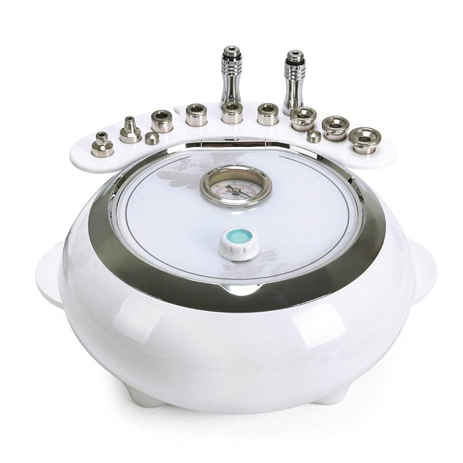 不可能な誠実さ浴3 in 1ダイヤモンドマイクロダーマブレーションマシン、真空美容装置、スキンケアスプレー個人用家庭用大吸引フェイシャルケアサロン機器,220V/UK